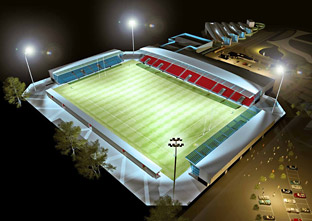 Artist's impressions of York's community stadium revealed