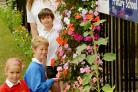 Youngsters at Dunnington CE Primary School helped the community to success in last year's Yorkshire In Bloom competition