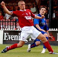 York City defender Darren Craddock's fifth caution of the season has manager Billy McEwan fuming