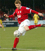 York City wing ace Martyn Woolford