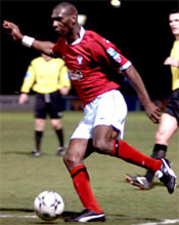 On-loan striker Leo Fortune-West