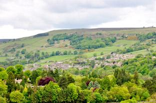 York Press: Pateley Bridge nestles in the hillside