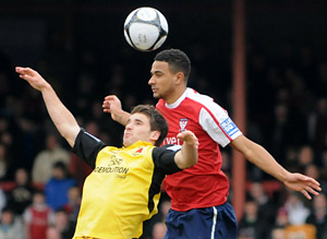 James Meredith in action for York City