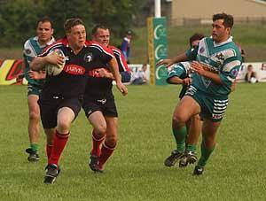 York Ironsides take the fight to FC Lezignan-Corbieres in the York International 9s final
