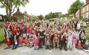 York Press: Royal wedding street party