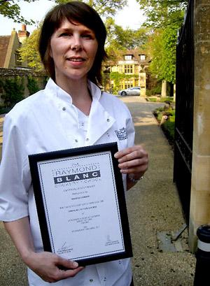 Maxine Gordon at Le Manoir