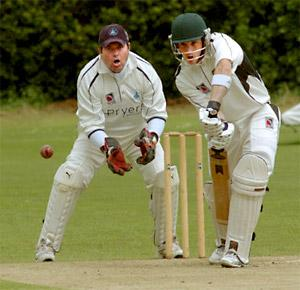 Stamford Bridge batsman Dave Bradshaw top-scored against Pocklington