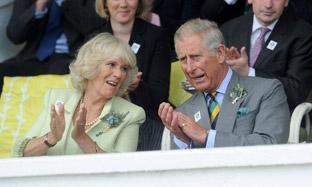Prince Charles and the Duchess of Cornwall at the Great Yorkshire Show