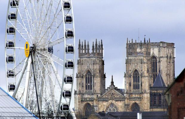 York's skyline could soon feature a big wheel once again