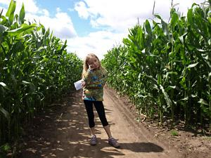 Day out at Easingwold Maize Maze