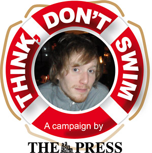 York Press: Think, Don't Swim campaign