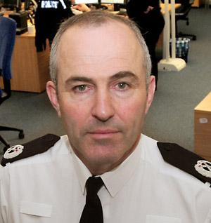 Temporary deputy chief constable Tim Madgwick