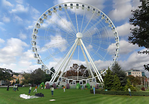 Artist's impression of how York's new big wheel could look