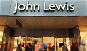 A John Lewis store front