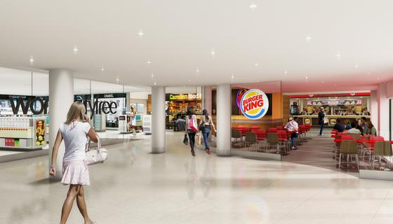 Leeds bradford airport expansion to attract new airlines york press artists impression of the entrance to the new duty free shopping area at leeds bradford airport m4hsunfo