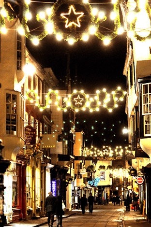 Christmas lights in York - gallery - from York Press