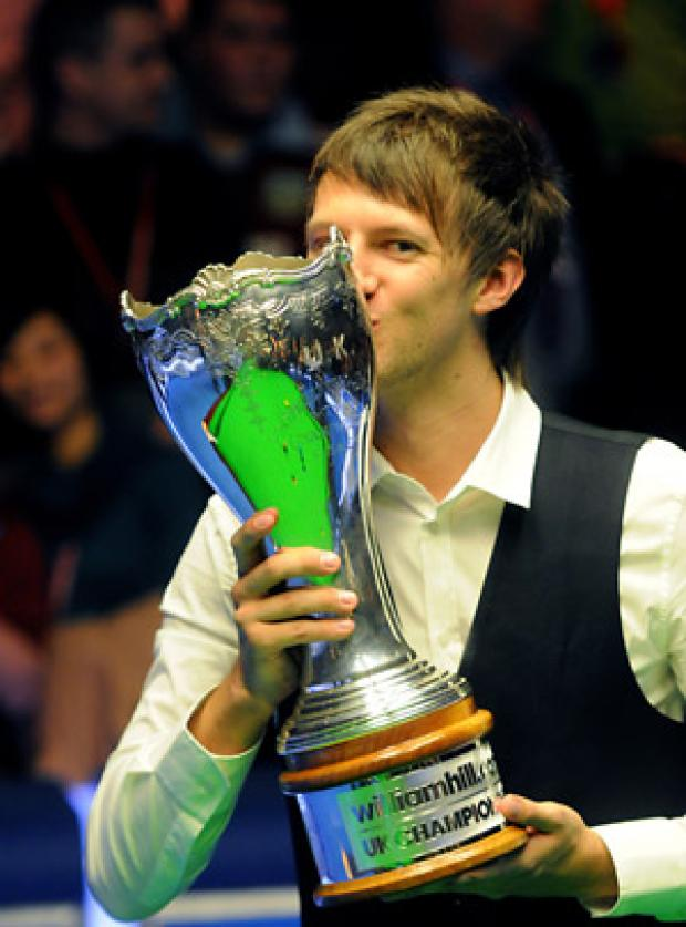 Judd Trump after last  year's win at York
