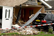 York Press: 4x4 ploughs into bungalow in Wheatfield Lane, Haxby