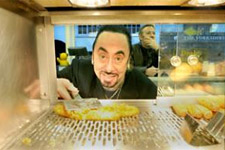 York Press: David Gest serves customers at Drakes Fisheries in Low Petergate