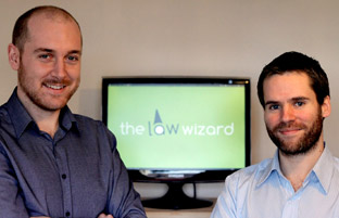 York Press: Tom Hiskey and Rob Blake of Law Wizard