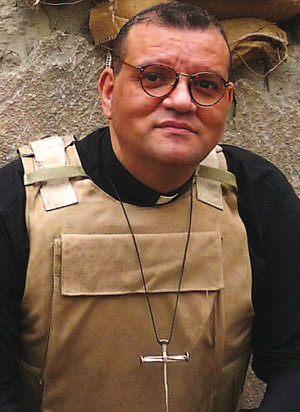 "Canon Andrew White, known as the ""Vicar of Baghdad"""