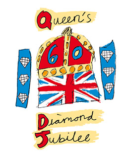 York Press: The Queen's Diamond Jubilee logo