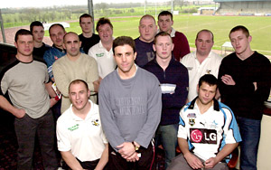 York Press: Wasps head coach Leo Epifania, front, and some of the players and bootroom staff