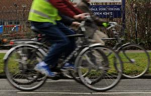 The Cycling City York campaign is being credited with getting scores more people in York back on their bikes