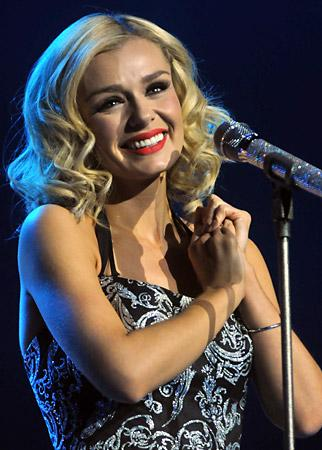 Welsh singer Katherine Jenkins made her York Barbican debut in front of an auditorium packed with fans.