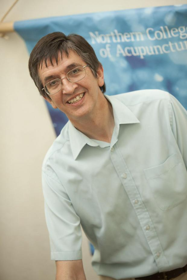 Richard Blackwell, principal of the Northern College of Acupuncture