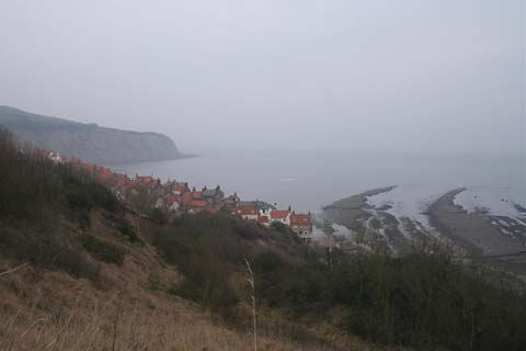 Country walk at Robin Hood's Bay
