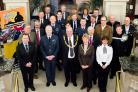 Members of North Yorkshire County Council, the armed forces and community representatives back the Heroes Welcome scheme
