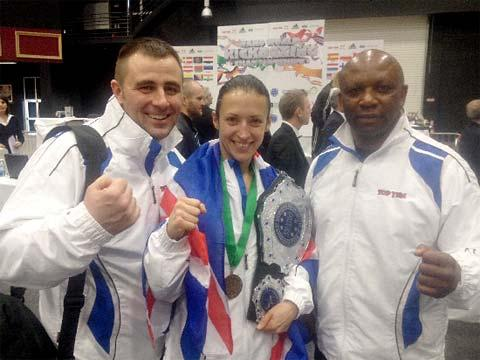 York coach's hand in world kickboxing success