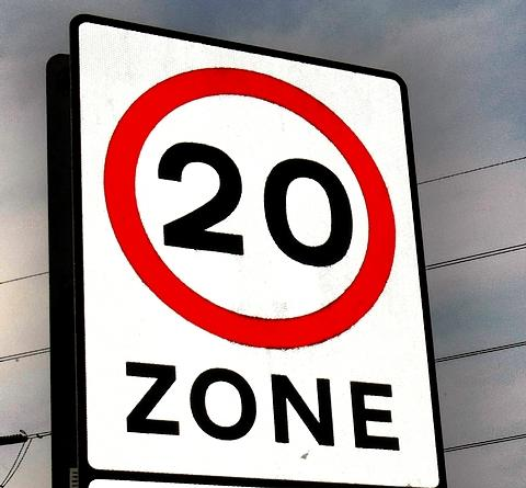 Less pollution is spurious reason for 20mph zones