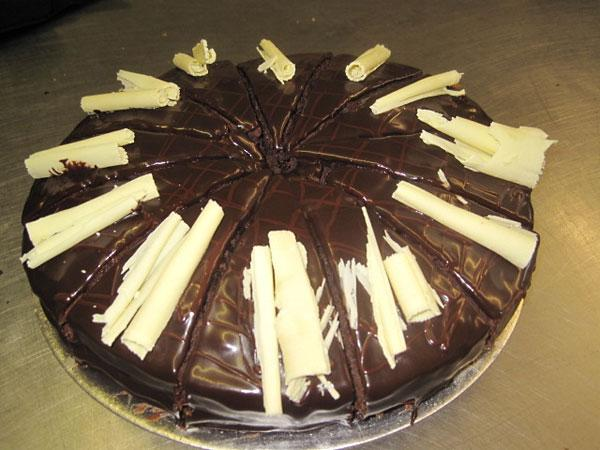 'Speedy' chocolate cake