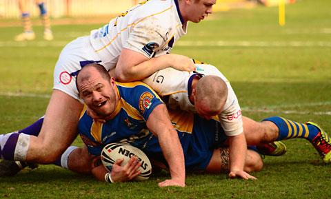 York Acorn have suffered a blow with the news that star prop forward Adam Endersby is out for up to four weeks