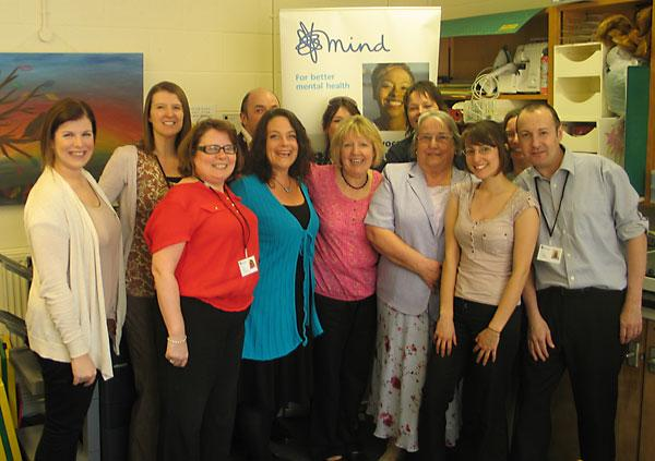 The team at York Mind
