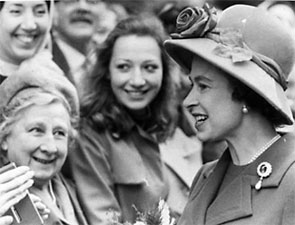 York Press: The Queen's visit in 1972