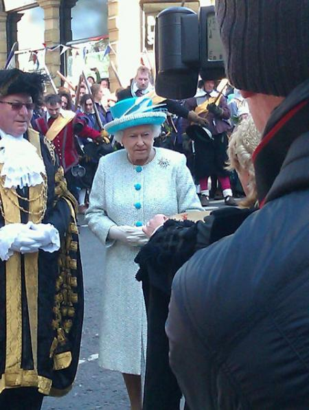 The Queen at Micklegate Bar
