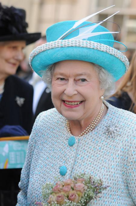 The Queen in York for the Maundy service at York Minster.