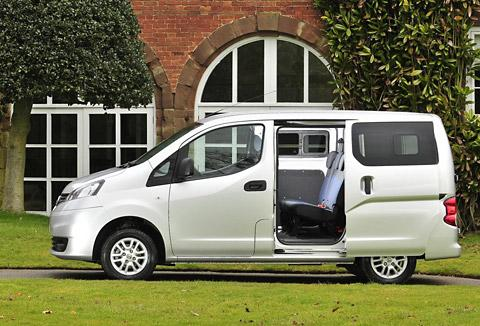 The NV200 is a people carrier and one of the most efficient models in the Nissan range