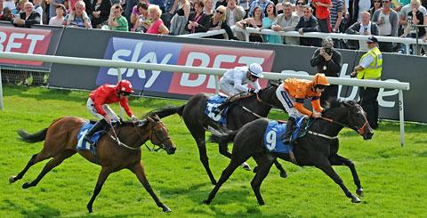 Satanic Beat's win at York
