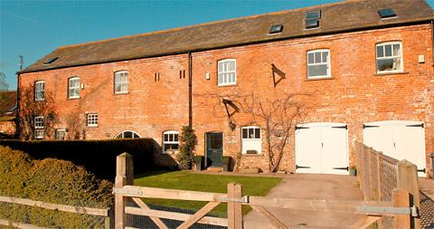 Grain Store Barn at Askham Bryan has a huge open-plan arrangement involving the living room, dining area and breakfast kitchen