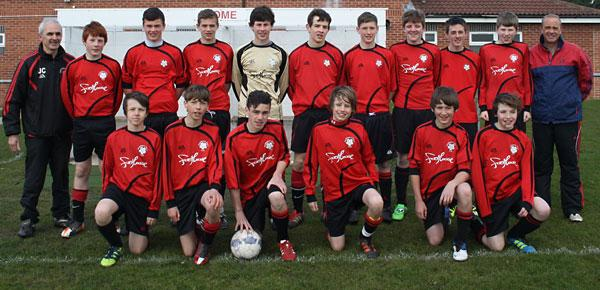 Pocklington Predators Under-14s, who have been crowned York Minor League division one champions.