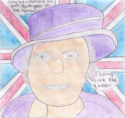 This portrait was sent in by Huntington School pupil Will Greenwood, 12, of Old School Walk, Acomb, York