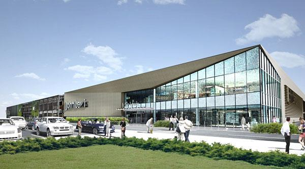 Artist's impression: How the new development at Monks Cross would look