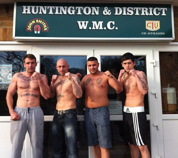Four of the York boxers on next month's EBF bill