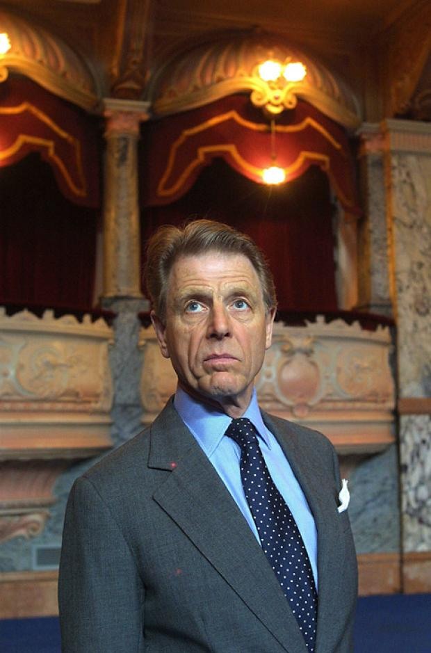 Edward Fox at the Royal Hall in a picture taken in 2005