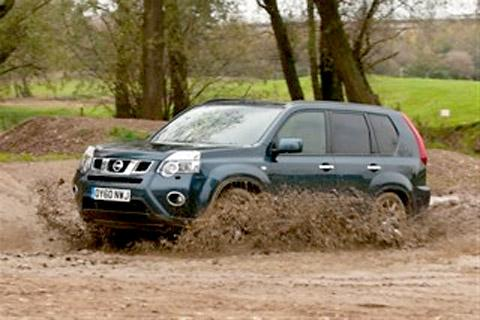 The Nissan X-Trail offers a sturdy off-road ride and decent economy
