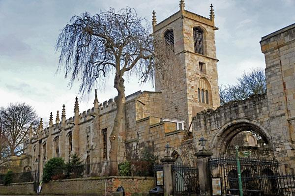 York Press: St Olave's Church in Marygate